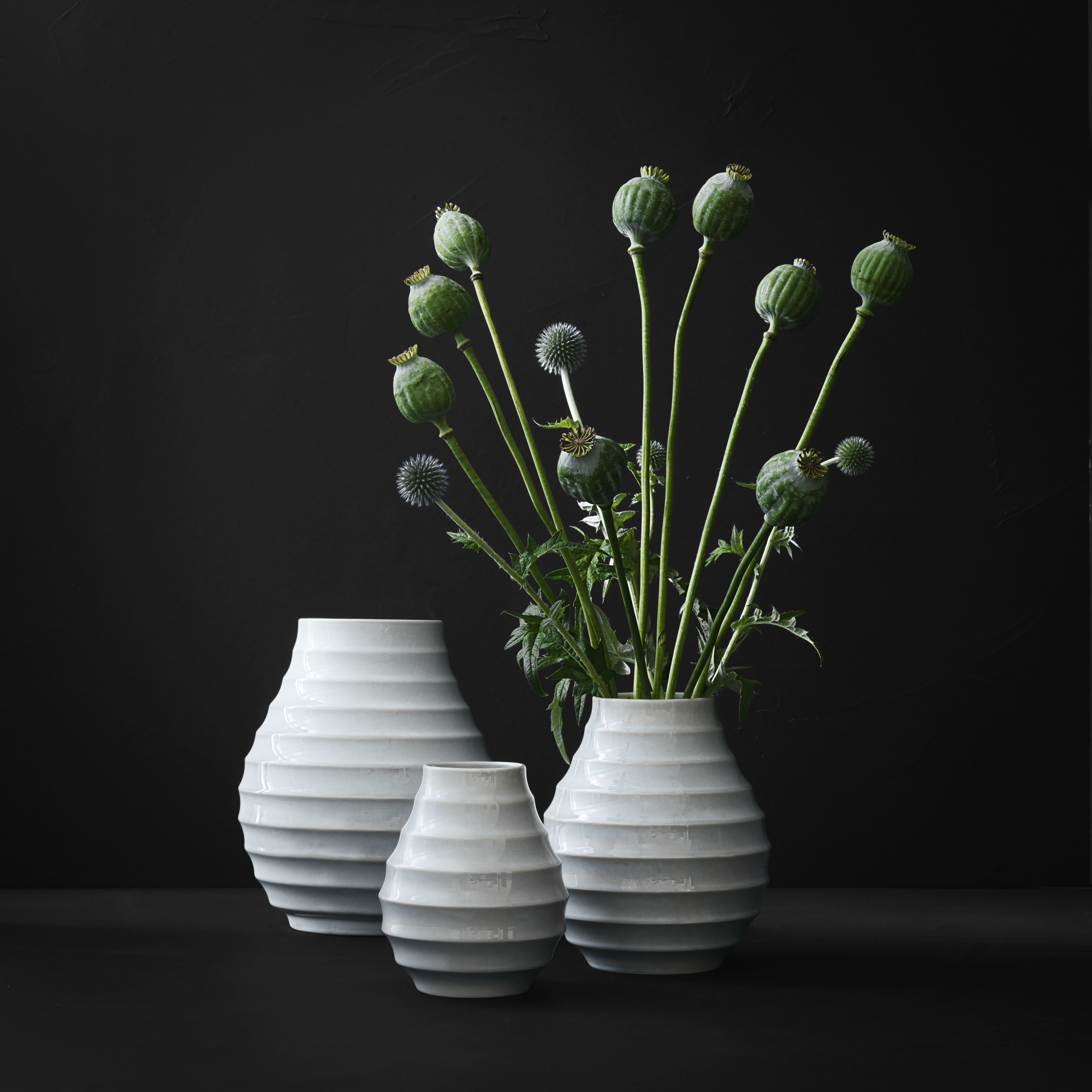 morso bark vases - small, medium, large