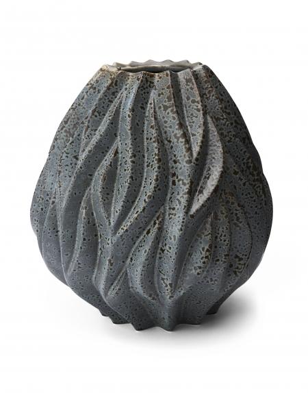 morso flame vase in grey