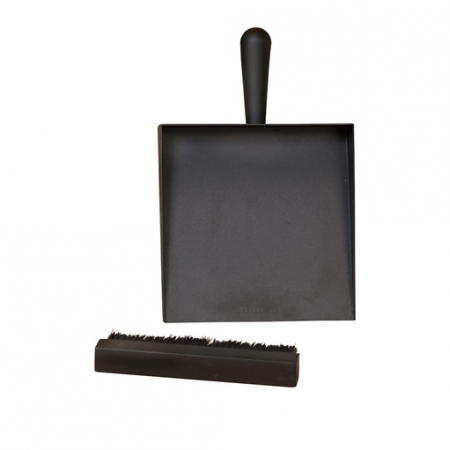 morso dustpan and brush for woodburning stove